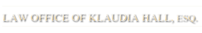 Law Office of Klaudia Hall, Esq. logo